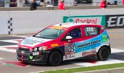 picture of Johan Schwartz race car